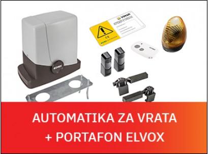 [akcija sa poklonom] Automatika za vrata ELVOX + poklon audio portafon