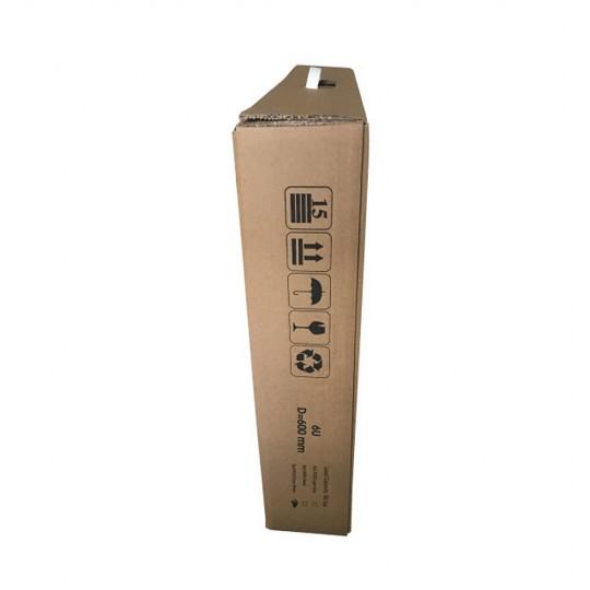 ORMAR 19* - 6U - 304X535X450 - U KITU CRNI - BASIC - 5406