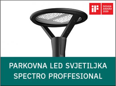 [predstavljamo] Parkovna LED svjetiljka SPECTRO PROFFESIONAL - nagrađena iF DESIGN AWARD 2020