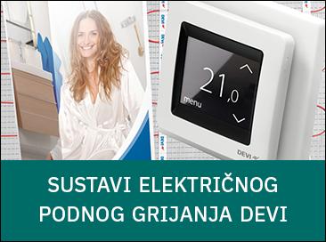 [predstavljamo] Sustavi električnog podnog grijanja DEVI